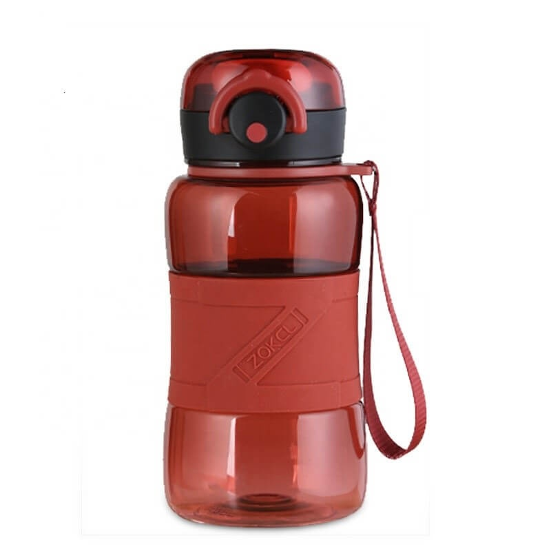 460ml Customized Tritan Sport Water Bottle Double Lockable Bottle Dust Cover For Outdoors