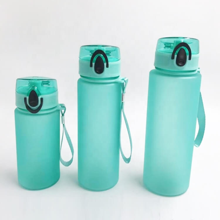 Sport Water Bottle Plastic Portable Drinking Water Bottle