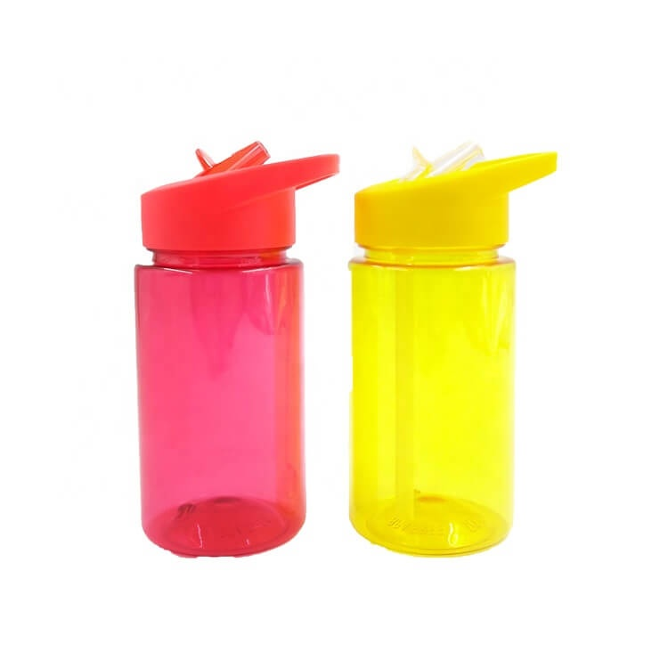 Custom kids drinking water bottle plastic
