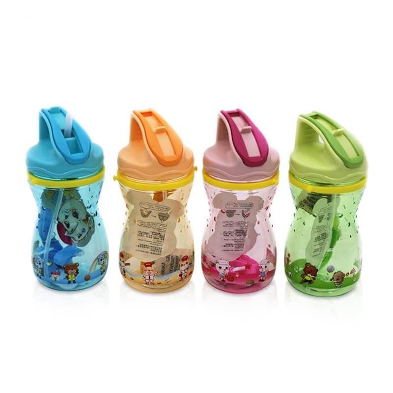 Food grade plastic 430ml child kids baby