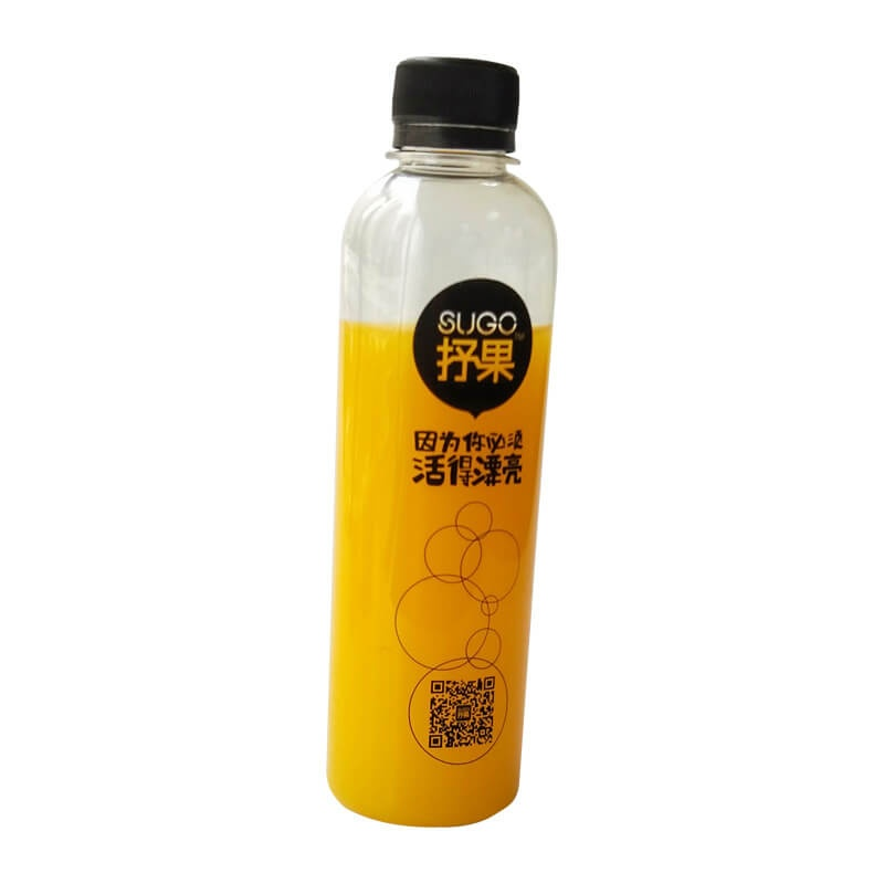Plastic Bottle Disposable Juice Bottle