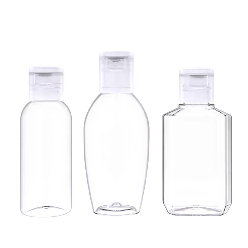 Mini  hand​ sanitizer plastic bottles