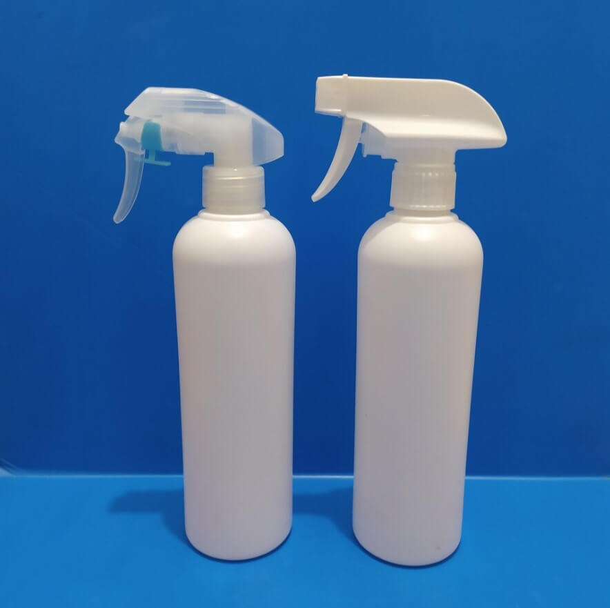 Stocks 500ml empty gel bottle with sprayer