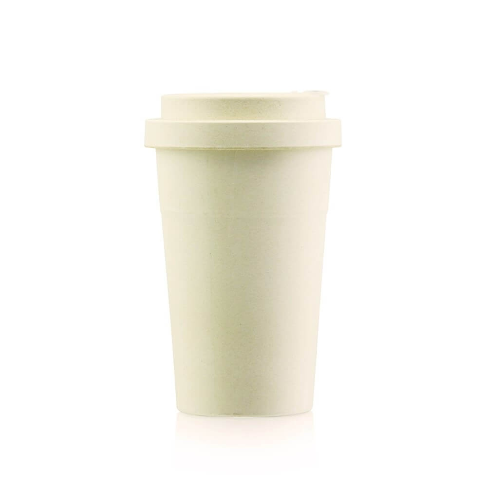 Bamboo fiber coffee cups